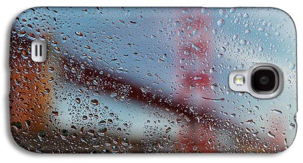 Rainy Golden Gate Galaxy S4 Case by Steve Gadomski