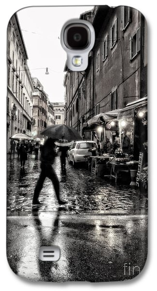 rainy night in Rome Galaxy S4 Case by HD Connelly