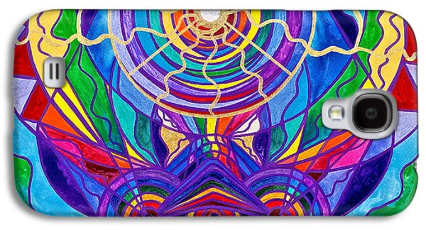 Swan Galaxy S4 Case - Raise Your Vibration by Teal Eye  Print Store