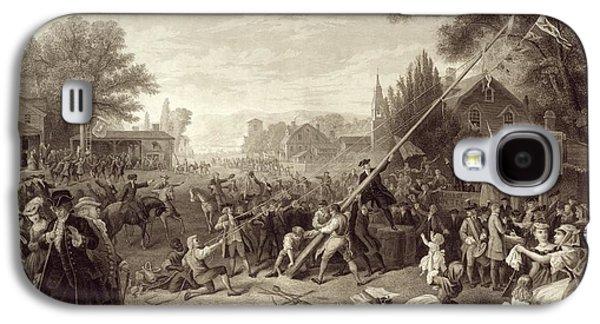 Raising The Liberty Pole 1776. An Galaxy S4 Case
