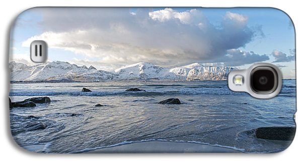 Ramberg Beach, Lofoten Nordland Galaxy S4 Case