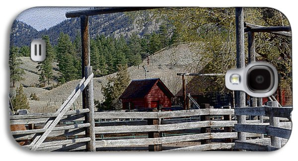 Ranch Fencing And Tool Shed Galaxy S4 Case