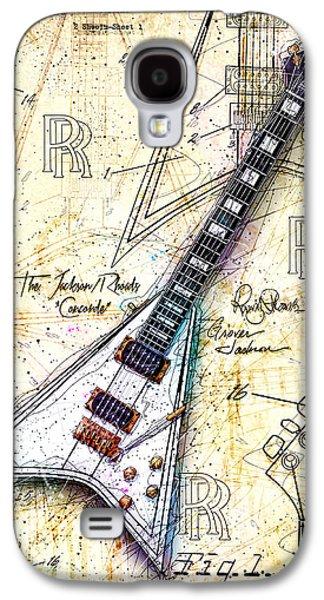 Randy's Guitar Galaxy S4 Case by Gary Bodnar