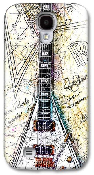 Randy's Guitar Vert 1a Galaxy S4 Case by Gary Bodnar