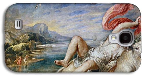 Rape Of Europe Galaxy S4 Case by Peter Paul Rubens