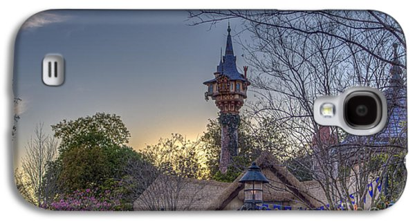 Rapunzel's Tower At Sunset Galaxy S4 Case