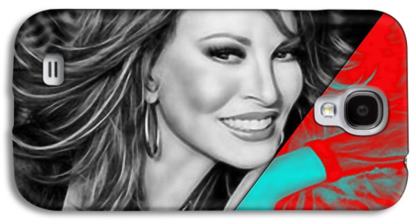 Raquel Welch Collection Galaxy S4 Case by Marvin Blaine
