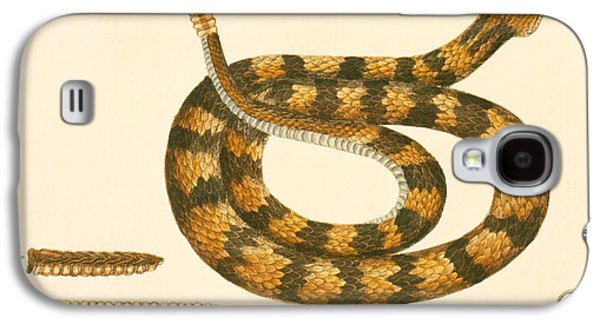 Reptiles Galaxy S4 Case - Rattlesnake by Mark Catesby