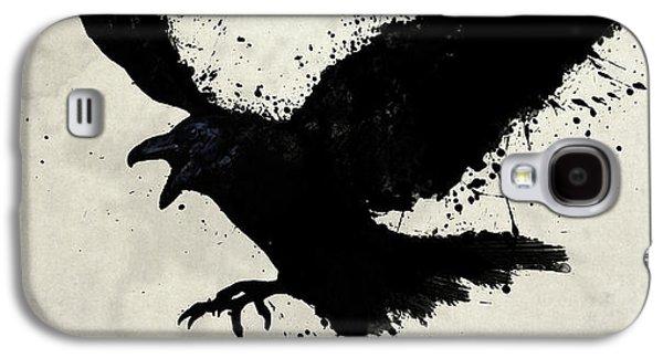 Crow Galaxy S4 Case - Raven by Nicklas Gustafsson