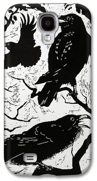 Ravens Galaxy S4 Case by Nat Morley