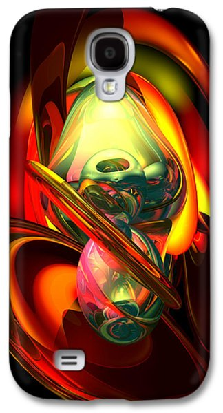 Raw Fury Abstract Galaxy S4 Case