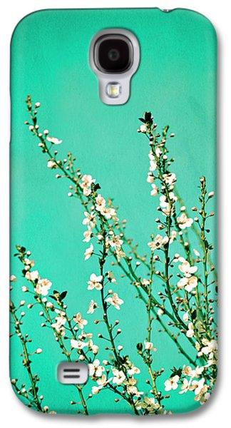 Cherry Blossoms Galaxy S4 Case - Reach - Botanical Wall Art by Melanie Alexandra Price