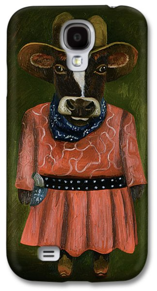Real Cowgirl Galaxy S4 Case by Leah Saulnier The Painting Maniac