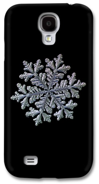 Real Snowflake - Hyperion Black Galaxy S4 Case