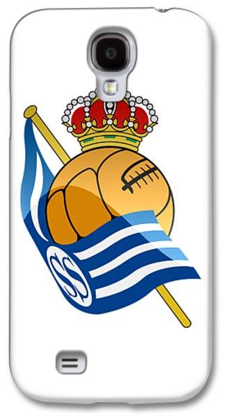 Real Sociedad De Futbol Sad Galaxy S4 Case by David Linhart