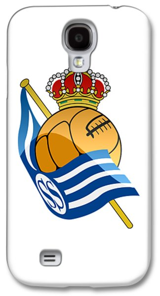 Real Sociedad De Futbol Sad Galaxy S4 Case by David Linhart