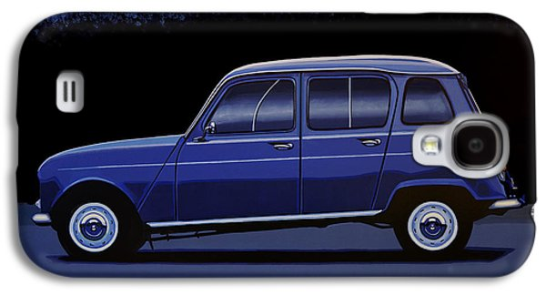 Truck Galaxy S4 Case - Renault 4 1961 Painting by Paul Meijering