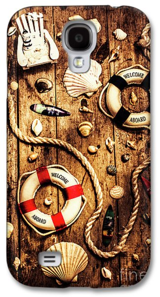 Rearranging The Deck Chairs Galaxy S4 Case by Jorgo Photography - Wall Art Gallery