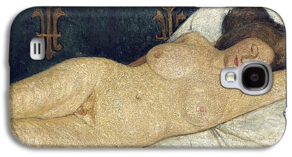 Reclining Female Nude Galaxy S4 Case by Paula Modersohn-Becker