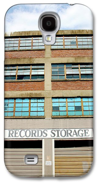 Records Storage- Nashville Photography By Linda Woods Galaxy S4 Case by Linda Woods