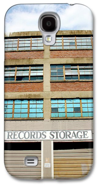 Records Storage- Nashville Photography By Linda Woods Galaxy S4 Case