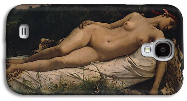 Recumbent Nymph Galaxy S4 Case by Anselm Feuerbach