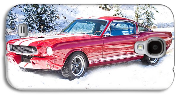 Red 1966 Ford Mustang Shelby Galaxy S4 Case by James BO  Insogna