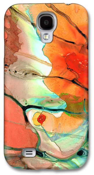 Red Abstract Art - Decadence - Sharon Cummings Galaxy S4 Case