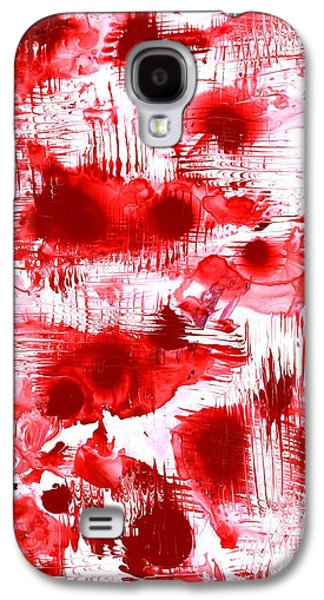Red And White Galaxy S4 Case