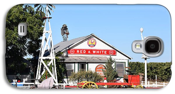 Red And White Food Stores Galaxy S4 Case by Barbara Snyder
