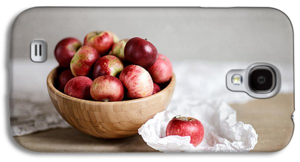 Red Apples Still Life Galaxy S4 Case by Nailia Schwarz