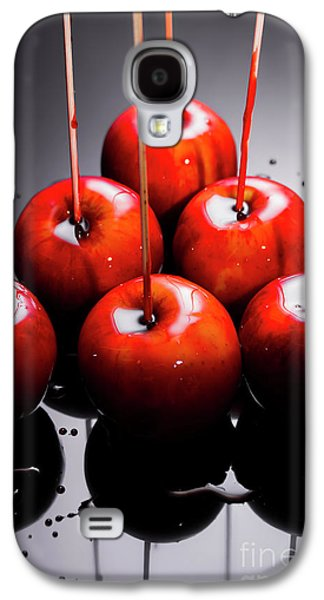 Red Apples With Caramel  Galaxy S4 Case by Jorgo Photography - Wall Art Gallery