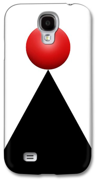 Red Ball 28c V Galaxy S4 Case by Mike McGlothlen