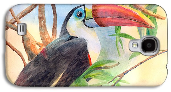 Red-billed Toucan Galaxy S4 Case by Arline Wagner