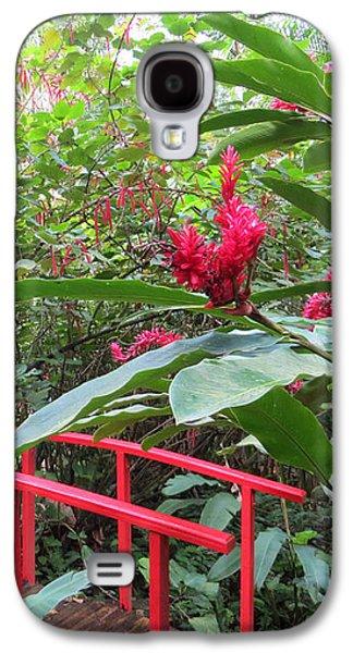 Red Bridge Galaxy S4 Case by Teresa Wing