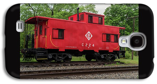 Red Caboose C224 New Jersey Galaxy S4 Case