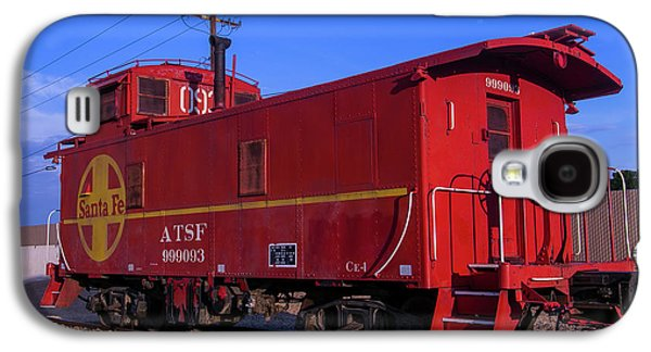 Red Caboose  Galaxy S4 Case by Garry Gay