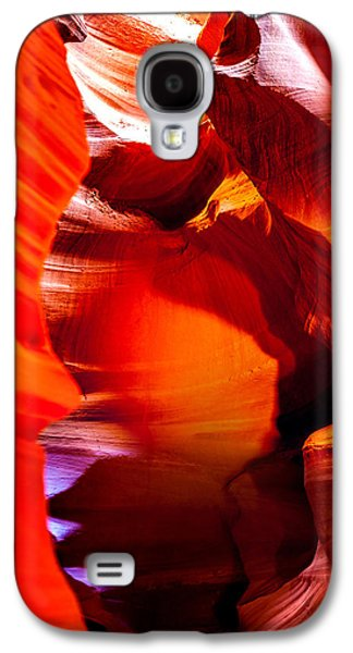 Featured Images Galaxy S4 Case - Red Canyon Walls by Az Jackson