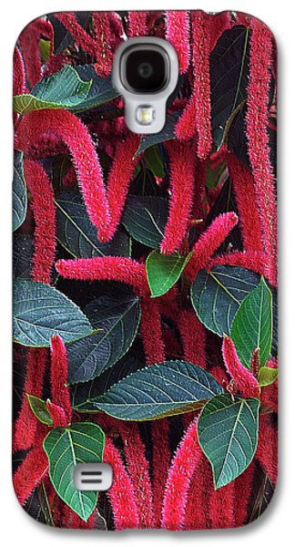 Red Chenille Galaxy S4 Case