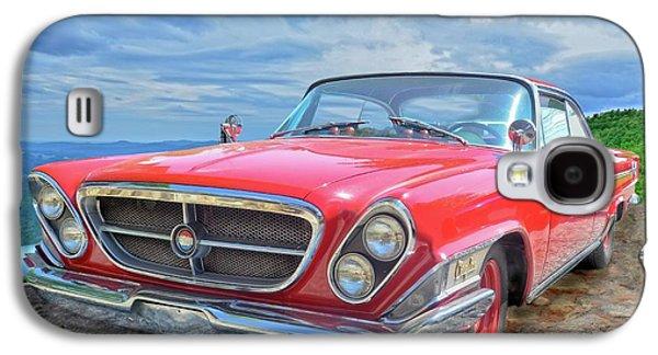 Red Chrysler 300 Galaxy S4 Case by Susan Leggett