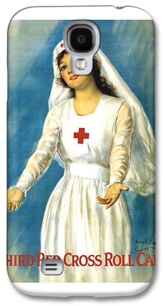 Red Cross Nurse - Ww1 Galaxy S4 Case by War Is Hell Store