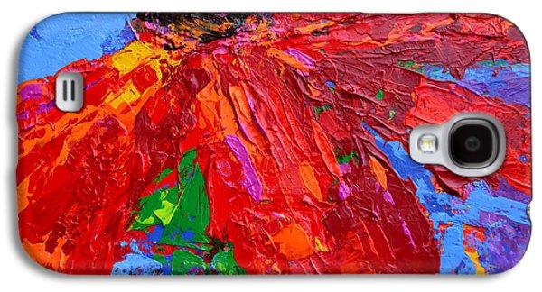 Red Daisy Galaxy S4 Case by Patricia Awapara