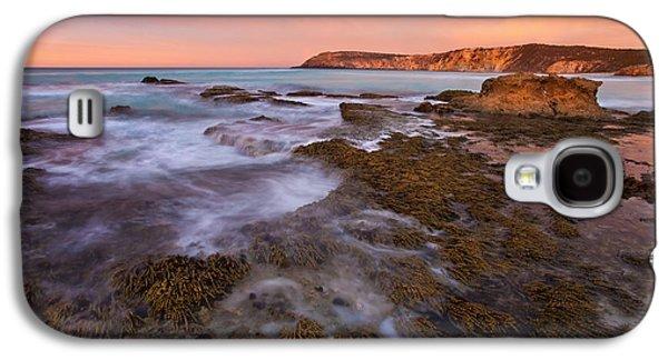 Kangaroo Galaxy S4 Case - Red Dawning by Mike  Dawson