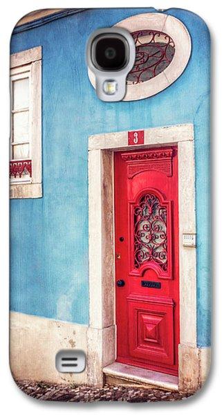 Red Door In Lisbon  Galaxy S4 Case