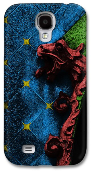 Decorative Galaxy S4 Case - Red Dragon by Emme Pons