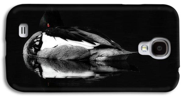 Red Eye Galaxy S4 Case by Lori Deiter