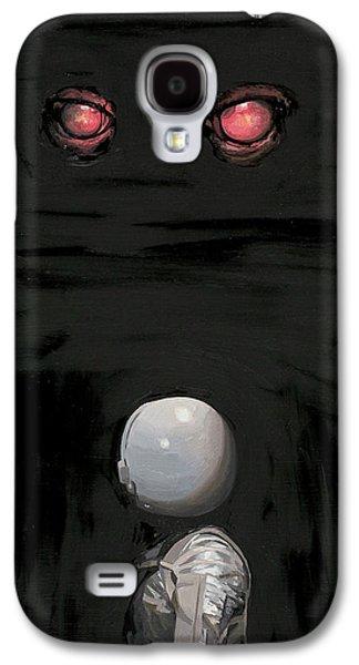 Red Eyes Galaxy S4 Case