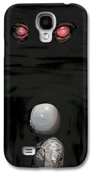 Red Eyes Galaxy S4 Case by Scott Listfield