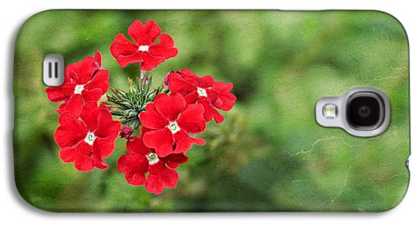 Red Flowers Galaxy S4 Case