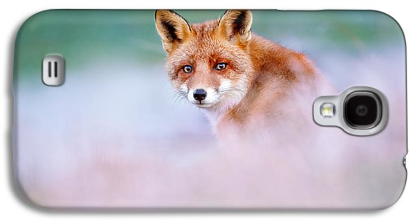 Red Fox In A Mysterious World Galaxy S4 Case